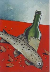 La truite au vin gris